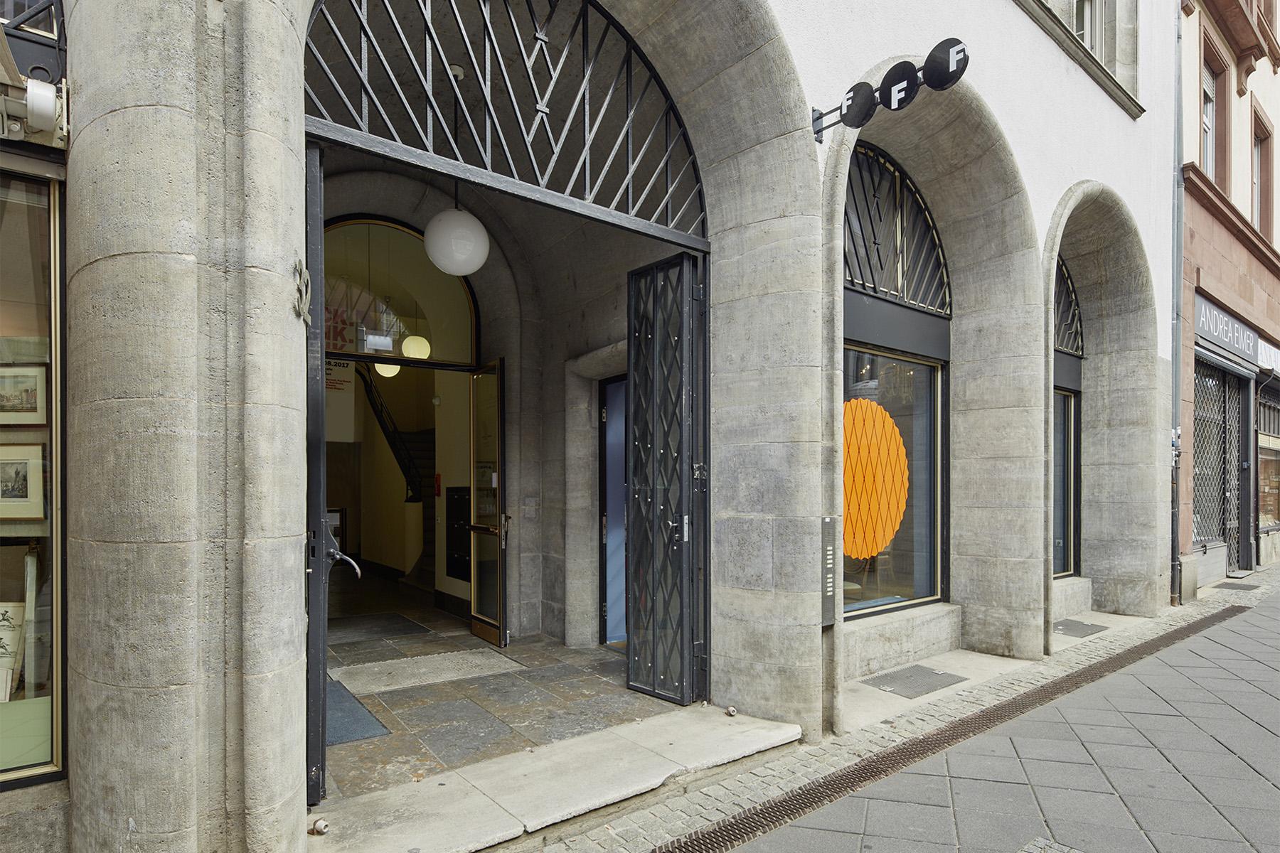 Außenansicht bzw. Eingang Fotografie Forum