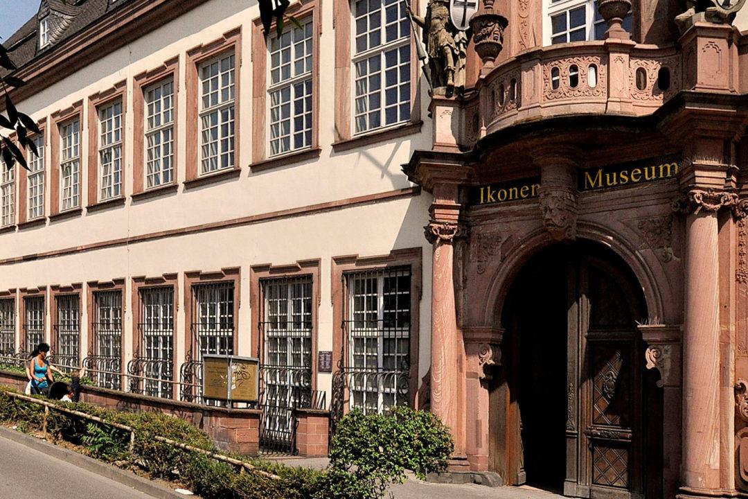 Außeneinsicht bzw. Eingang Ikonen Museum